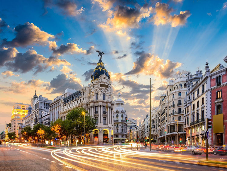 Wonderful Cities of Spain